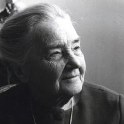 Suzanne de Dietrich, à 80 ans