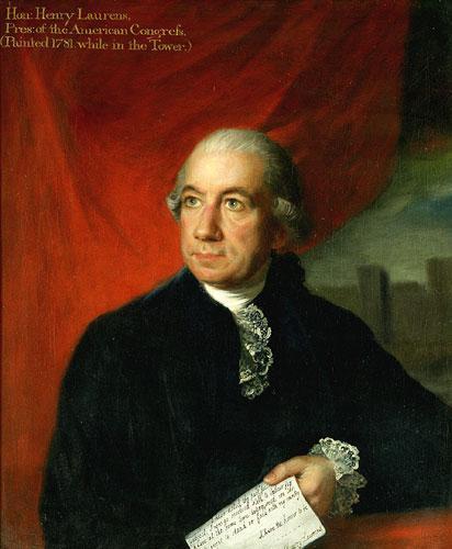 Henry Laurens par Lemuel Francis Abbot