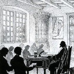 Antoine Court forme les jeunes pasteurs au séminaire de Lausanne