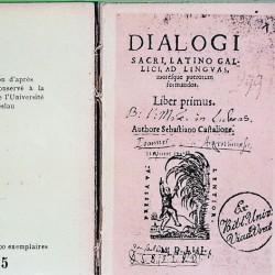 Sébastien Castellion, Dialogues sacrés