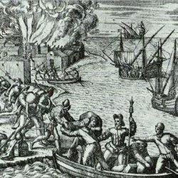 J. de Sores attaquant La Havane