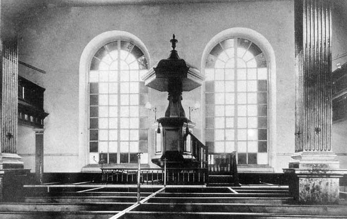 Lymeregis (GB, Dorset), chapelle congrégationnelle