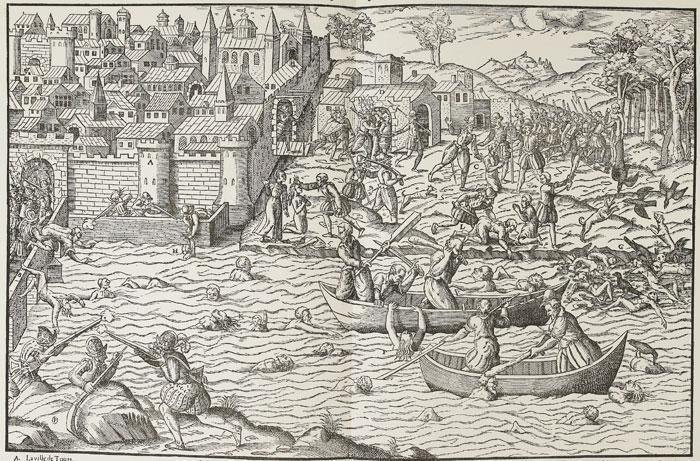 Le Massacre de Tours, juillet 1562