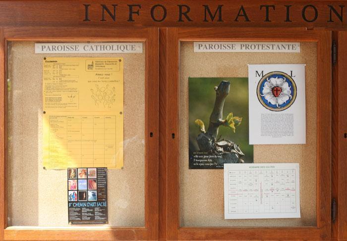 Hunawihr (68) horaires des cultes protestants et des messes catholiques