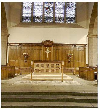 Eglise de Greyfriars (Ecosse) la 1ère église réformée construite à Edimbourg en 1620