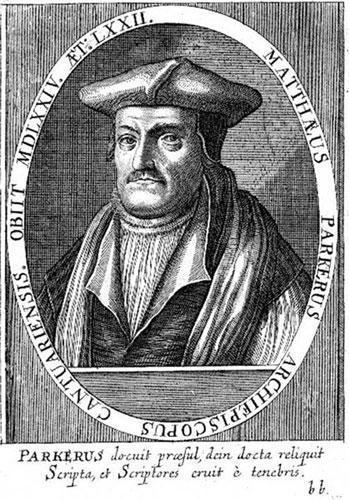 Matthew Parker par Theodor de Bry