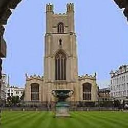 Cambridge great Ste Mary's church
