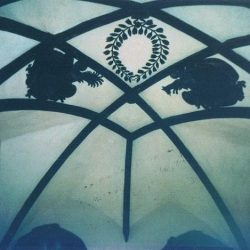 Eglise des Frères Moraves (plafond du choeur) Prague