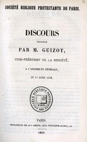 Discours par François Guizot (1787-1874)