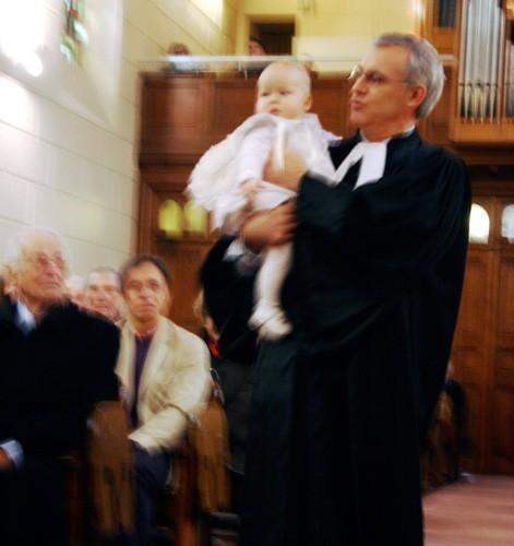 Baptême : présentation à la communauté