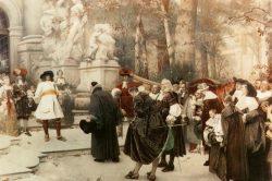 Le Grand électeur de Brandebourg accueille les huguenots