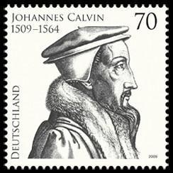 Briefmarke: Jean Calvin