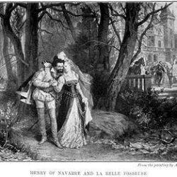 Henri III de Navarre et Françoise de Montmorency