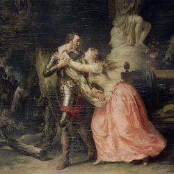 Henri IV quitte Gabrielle d'Estrées par François-André Vincent