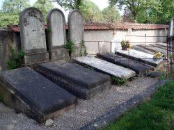 Cimetière protestant de Mulhouse : tombes