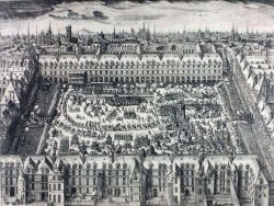 La place royale en 1612