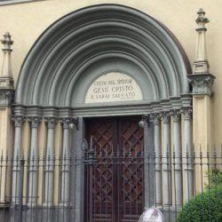 Portail du temple de Turin, Italie