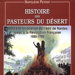 Livre Histoire Pasteurs du Désert par Napoléon Peyrat