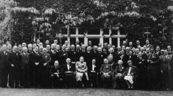 Participants à la conférence fondatrice de l'ABU en 1946