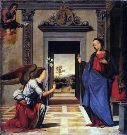 Annonciation 1497 par Fra Bartolomeo