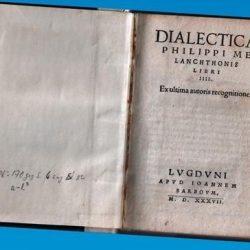 Manuel de dialectique - 1537