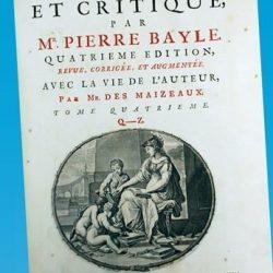 Dictionnaire historique et critique