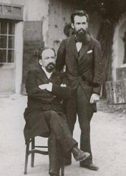 Pasteur Philadelphe Delord (à droite sur la photo)