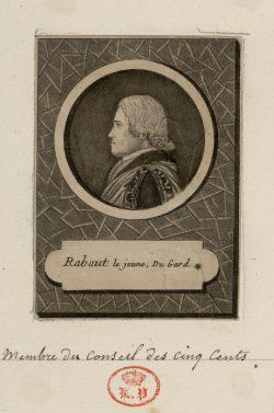 Pierre-Antoine Rabaut, dit Rabaut-Dupuis ou Rabaut le Jeune (1746-1808)