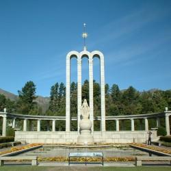 Monument dédié aux Huguenots français à Franschhoek (Afrique du Sud)