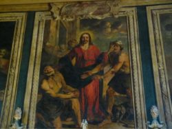 Le Christ guérissant les aveugles, d'Isaac Moillon (Hôtel-Dieu de Beaune)
