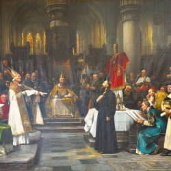Václav Brožík, Jean Hus lors du concile de Constance en 1415