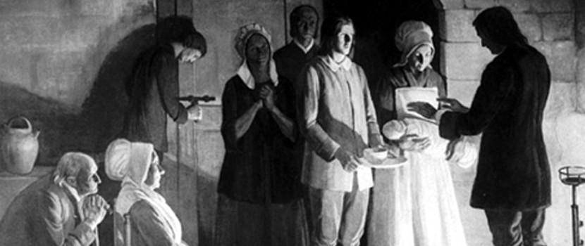 Le baptême chez les protestants