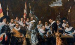 Frans Hals, Réunion des officiers et sous-officiers du corps des archers de Saint-Adrien