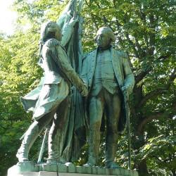 La Fayette et Washington (1892), de Bartholdi
