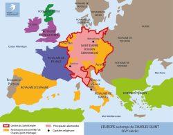 L'Europe au temps de Charles Quint