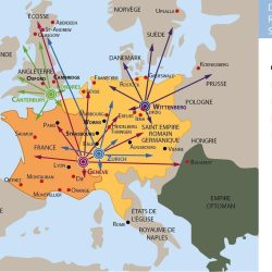 Diffusion de la Réforme en Europe