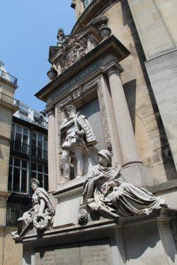 Temple de l'Oratoire - Statue de Gaspard de Coligny