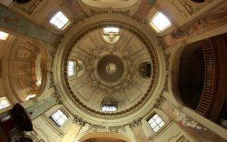 Vue intérieure du dôme du Temple du Marais