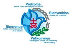 Logo Paix, justice et sauvegarde de la création