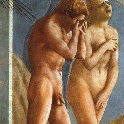 Adam et Eve chassés de l'Eden (Masaccio 1401-1428)