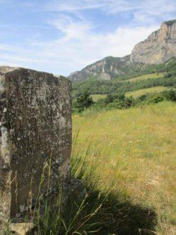 Stèle d'Isabeau Vincent