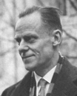 Willem Visser't Hooft aux alentours de 1938