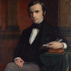 Portrait de Louis Appia par François Poggi en 1862 à Genève