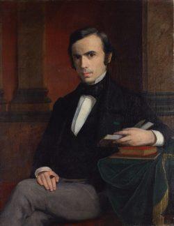 Portrait de Louis Appia par François Poggi en 1859 à Genève