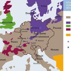 Situation religieuse de l'Europe à la fin du XVIe siècle