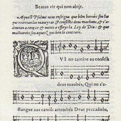 Psaumes de David (1583) – Arnaud de Salette