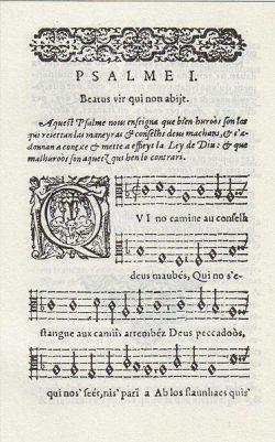 Psaumes de David (1583) - Arnaud de Salette