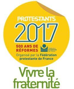 Logo de la célébration des 500 ans de la Réforme en 2017