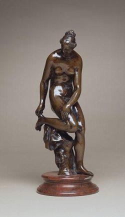 PRIEUR Barthélemy Femme au bain Sculpture