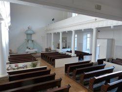 L'église du Bouclier, intérieur
